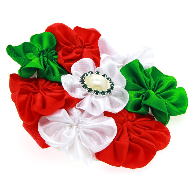online shop new christmas headbands diy fabric flowers headbands