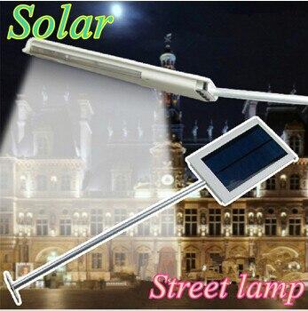 Optional 12 LED 15LED Solar Powered Panel LED Street Light Waterproof Street Corridor Courtyard Outdoor Wall Emergency Lamp 2016