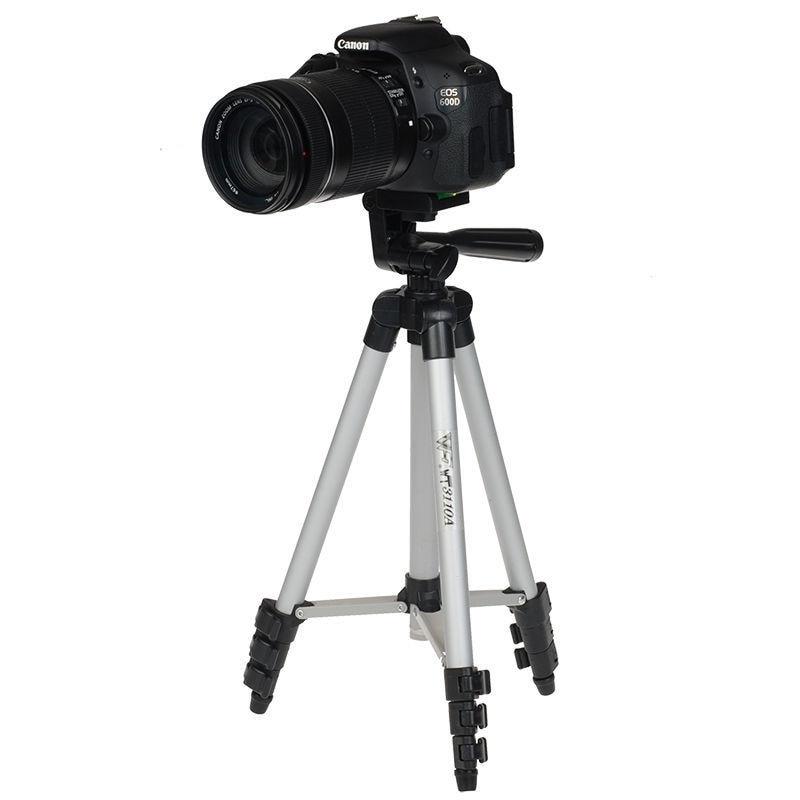 WT3110A Canon EOS Rebel T2i T3i T4i və Nikon D7100 D90 D3100 DSLR Kamera üçün Tripod