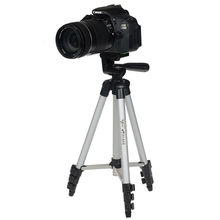 Best price WT3110A Professional Camera Tripod for Canon EOS Rebel T2i T3i T4i and For Nikon D7100 D90 D3100 DSLR Camera