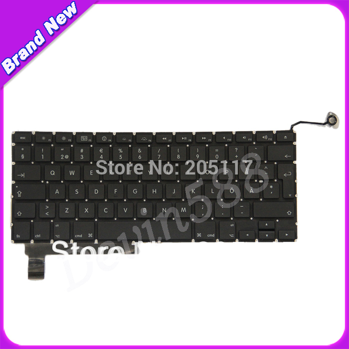 цена FOR Macbook Pro Unibody 15 A1286 Keyboard Nordic North Europe Swedish Danish 2009 2010