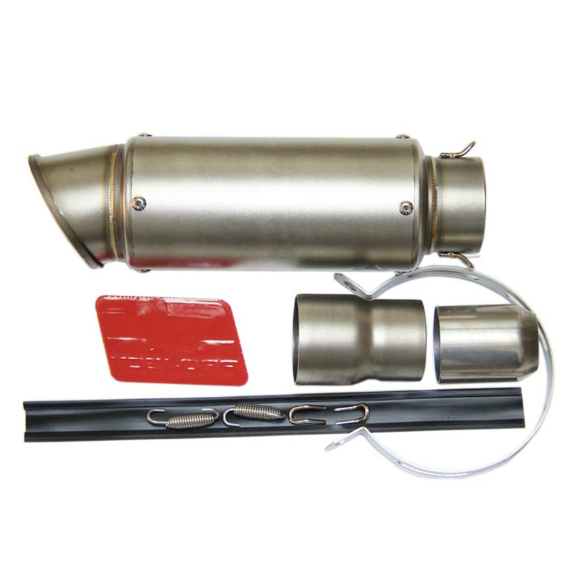 SPEED SCORPION Motorcycle Exhaust Pipe Scooter Modified Akrapovic Muffler exhaust pipe For KAWASAKI ER6N S1000RR R1 CBR1000R
