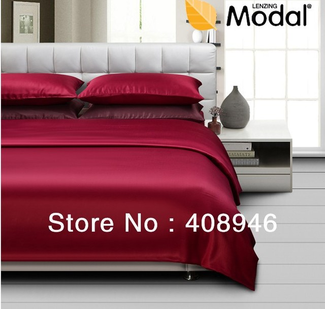 120450 free shipping 100% model win-red color luxury bedding set / 4pcs home textile Natural fabrics / healthy sleep naked