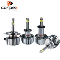 conpex 12v 6500k car light assembly Car Headlight Bulbs LED canbus for Fiat Aegea Doblo Panda Punto stilo bravo siena ducato