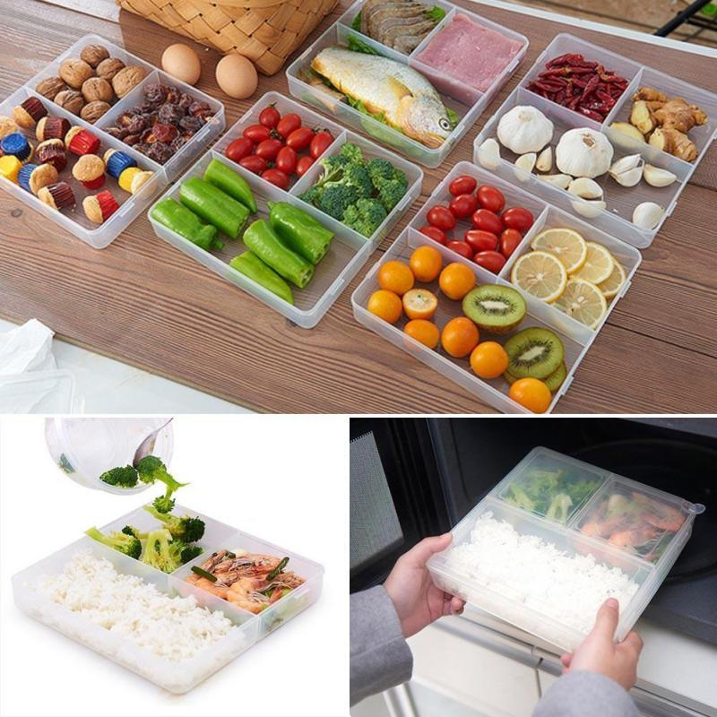 food storage containers with lids lids bento box lunch box box picnic food storage box. Black Bedroom Furniture Sets. Home Design Ideas