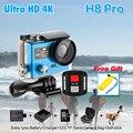 Original Action Camera Ambarella H8 PRO Controle Remoto Ultra HD 4 K A12 WiFi 170 ação Helmet Cam ir pro Esporte câmera à prova d' água