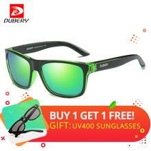 DUBERY Esportes Estilo Óculos De Sol Dos Homens Polarizados Condução HD  Lente Polaroid Óculos Quadrados Óculos de Sol Shades gaf. 64d07d4678