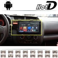For HONDA Fit Jazz GK5 2013 2014 2015 2016 Car Multimedia DVD Player GPS Navigation Android
