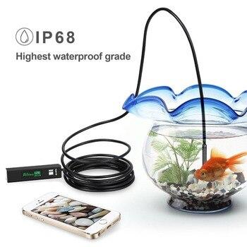 1200 وعاء لاسلكي wifi كاميرا المنظار usb borescope ل فون الروبوت ios التنظير مصغرة للماء كاميرا 8 ملليمتر 2 متر 5 متر 10 متر الصعب 1