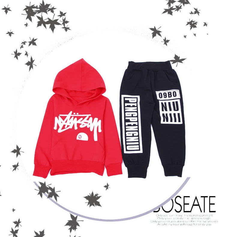 boys hoodie and pant sets 1039-8