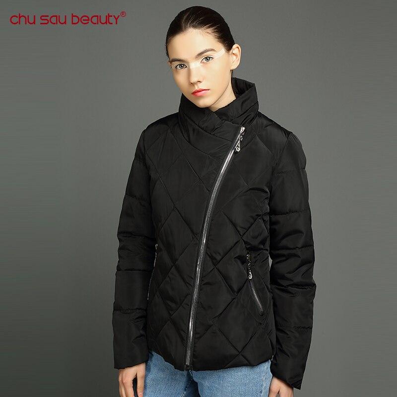 Chusaubeauty 2017 women's jacket Winter Long Style Parkas Women Coats Female women's coat jacket Parka Parkas Ladies Thicken