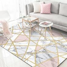 Living room area rug Nordic modern minimalist geometric sofa table blanket American bedside bedroom large  carpet anti-slip home
