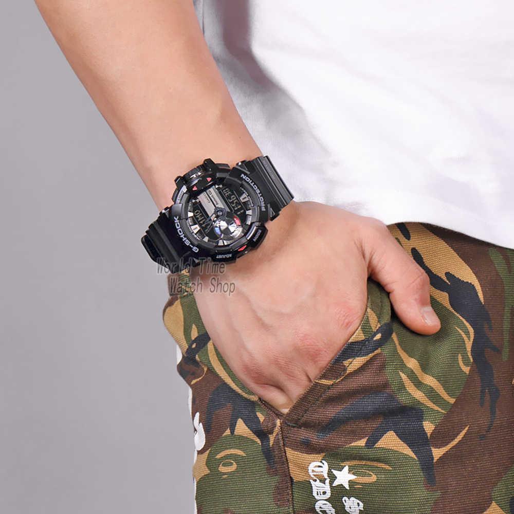 Zegarek Casio mężczyzn g szok inteligentny zegarek cyfrowy top marki luksusowy zestaw kwarcowy 200m Wodoodporny nadgarstek do nurkowania sportowego Zegarek g-shock Zegarek wojskowy LED Bluetooth Music control mężczyzn