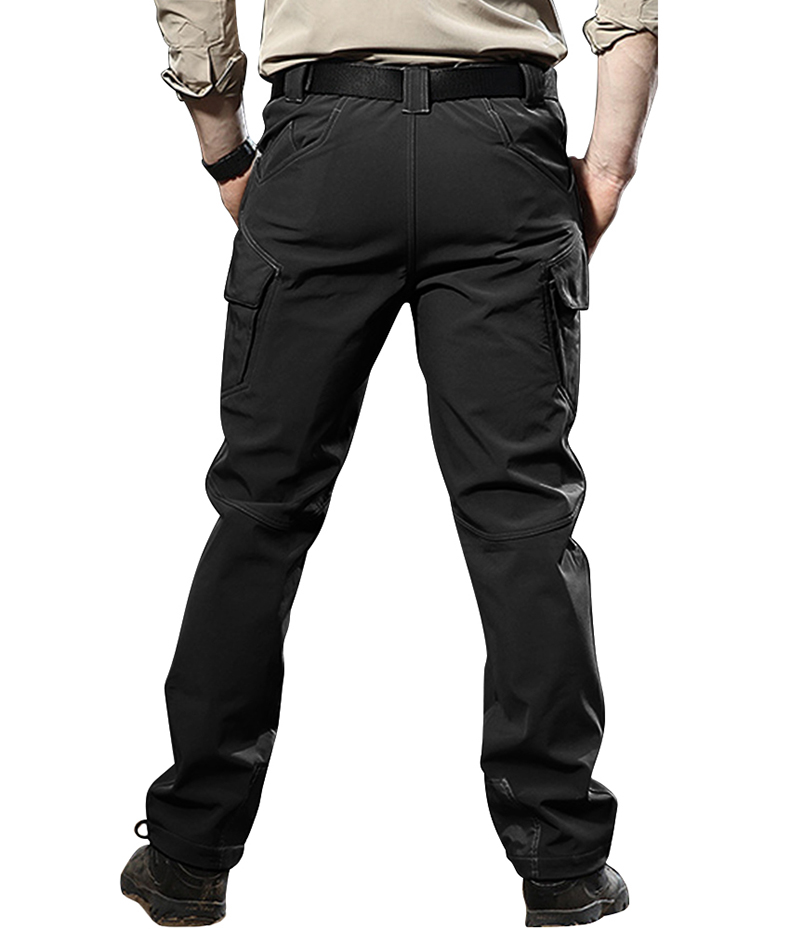 TACVASEN IX9 Men Winter Tactical Clothing Casual Cargo Pants Military Thermal Reflective Pant Men's Combat Trousers TD-QZJL-019