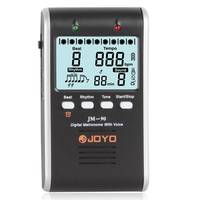 JOYO JM 90 LED Indicator Digital Metronome With Voice Powered By Rechargeable Li Ion Battery