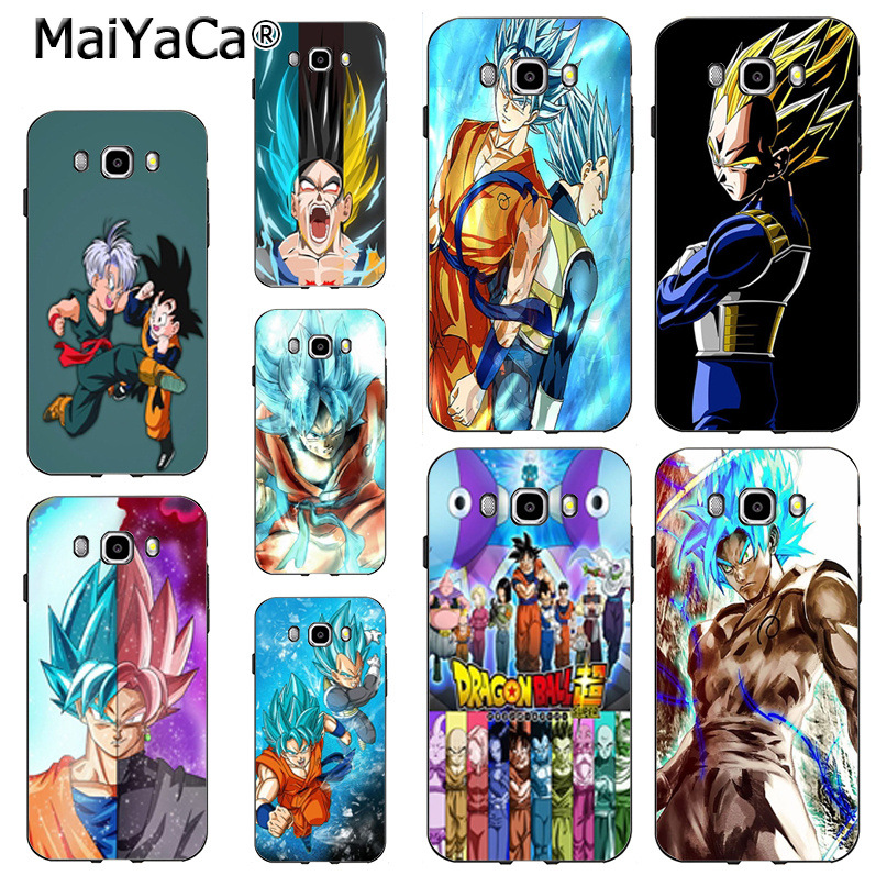Capable Maiyaca Dragon Ball Super Luxury Hybrid Phone Accessories Case For Samsung Note 5 Note8 J7 J6 J4 J2pro Case Coque To Prevent And Cure Diseases Phone Bags & Cases