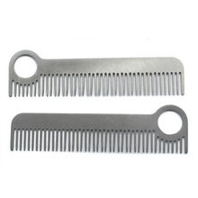 1 Pc EDC Gear Tactical Pocket Comb high Quality Health Care Tools for Women Men Unisex Stainless Steel Hair Combs