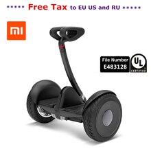 Original xiaomi mini ninebot inteligente auto equilibrio scooter eléctrico 2 de dos ruedas skateboard hoverboard 10 pulgadas ul2272 hover bordo