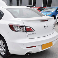 Car Accessories For Mazda 3 4Doors Sedan 2011 2016 ABS Plastic Unpainted Primer Tail Trunk Wing Rear Spoiler Auto Decoration