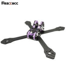 Original Realacc Purple215 215mm 4mm Arm Thickness Carbon Fiber Frame Kit For RC Multirotor Quadcopter Camera