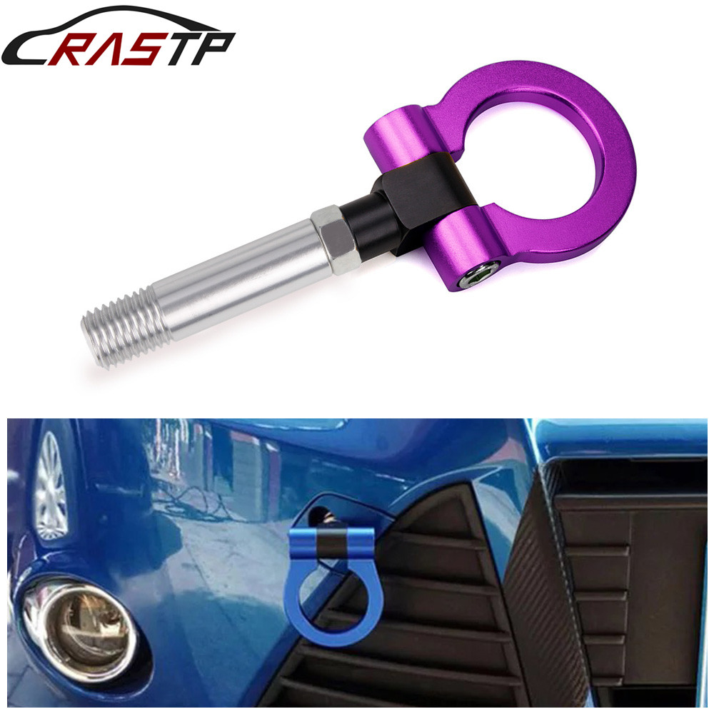 RASTP-Anodized Alloy Track Racing Style Front Screw-on Tow Hook for Mazda CX5 RX8 RS-TH008-5