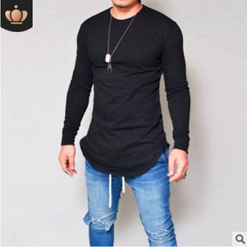 O-Neck Slim Fit Long Sleeve T Shirt 1