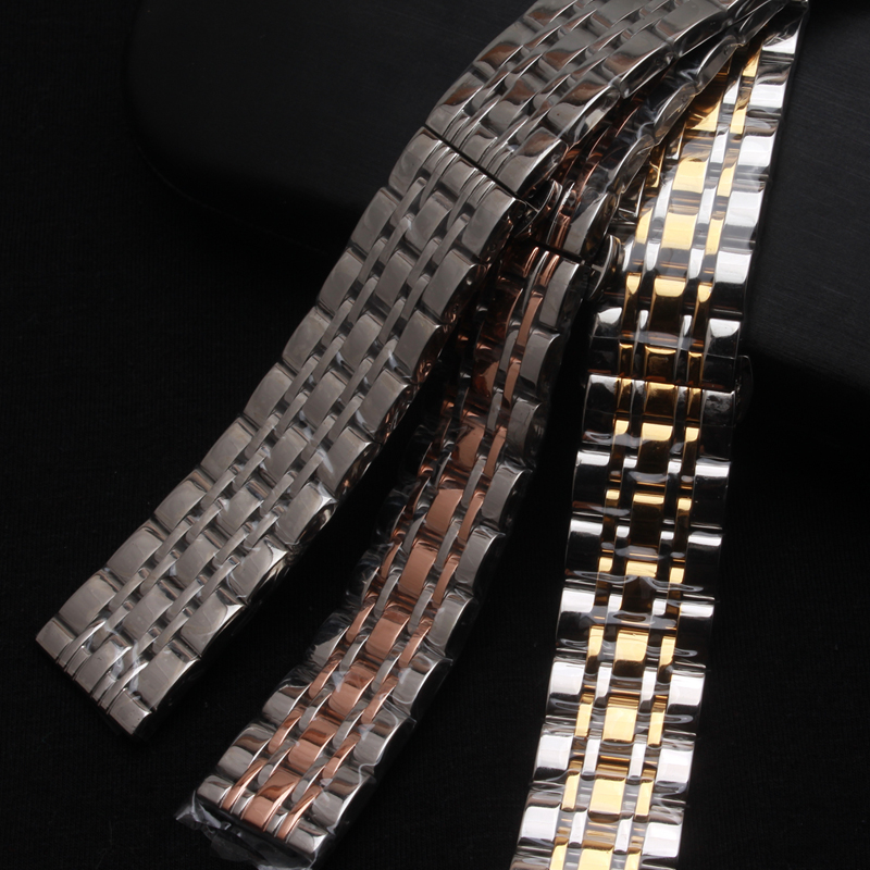 18mm 20mm 22mm 24mm watchbands hot Silver mixed Rose Gold Stainless Steel Metal Strap Bracelets quartz Watch Band fast delivery 8 10 12 14 16mm 18mm 20mm 22mm 24mm black silver gold rose gold ultra thin stainless steel milan mesh strap bracelets watch band