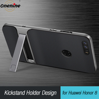 3D Kickstand Mobile Phone Case Huawei Honor 8 Case Cover Silicone 5 2 Hybrid TPU PC