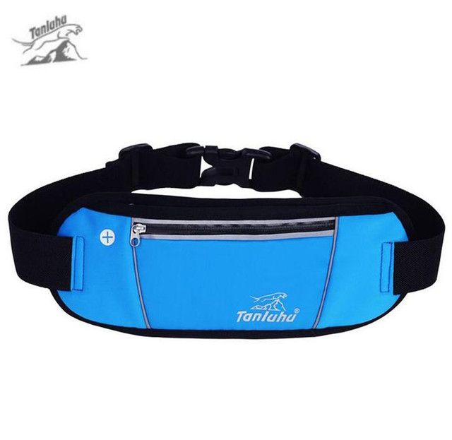 TANLUHU Men Women Multi Function Running Waist Bags Outdoor Fitting Belt Outdoor Fitness Bag Invisible Wallet Mobile Phone Bag