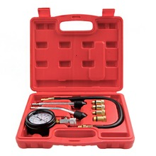 Professional Petrol Gas Engine Cylinder Compression Tester Gauge Kits Motor Car Bike