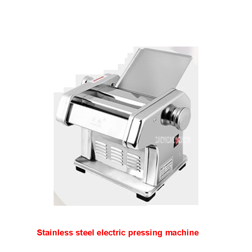430 Stainless steel household electrical pasta machine pressing machine 135W commercial mechanism pasta machine 220 V/ 50 Hz 1pc household mini pasta machine manual metal spaetzle makers pressing machine pole head mingled split noodle tools