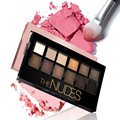 2016 Hot Brand Makeup Eye Glitter Matte Eye Shadow Maquillaje sombra de sobrancelha 12Color Pigment Nude Eyeshadow Sets