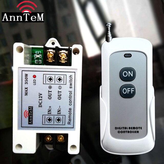 12v40a 전자석 단방향 오프 원격 제어 스위치 전원 끄기 dc 전원 공급 장치 스위치 자동차 오디오 팬 라이트 bulbelectromagnet