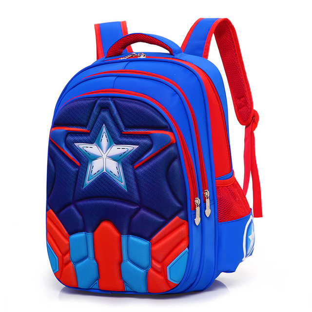 343e1c5122 Fashion High Quality Oxford Children 3D Waterproof Schoolbag Backpacks  Brand Design Teenagers Best Students Travel School Bags