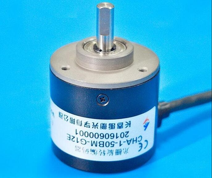 Changchun Yu Heng optical CHA-1-50BM-G12E incremental solid shaft photoelectric encoder 500P / R genuine