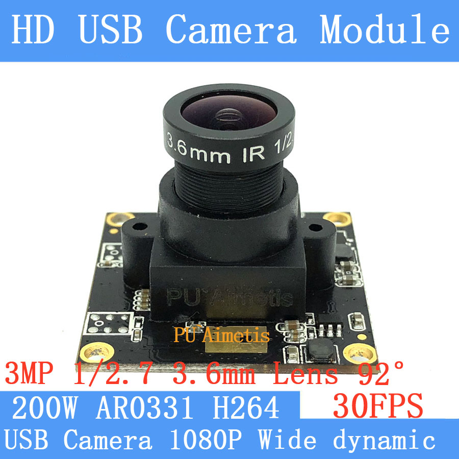 1920*1080P 30fps wide dynamic USB Camera module entrance guard face recognition general CCTV Camera H264 Support double audio1920*1080P 30fps wide dynamic USB Camera module entrance guard face recognition general CCTV Camera H264 Support double audio