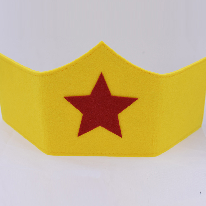 Wonder Woman Mask Kids Birthday Gift Cosplay Party