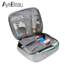 Wash Vanity Toiletry Kit Travel Necessaire Make Up Necessaries Makeup Cosmetic Bag Organizer For Women Beauty Case Pouch Handbag