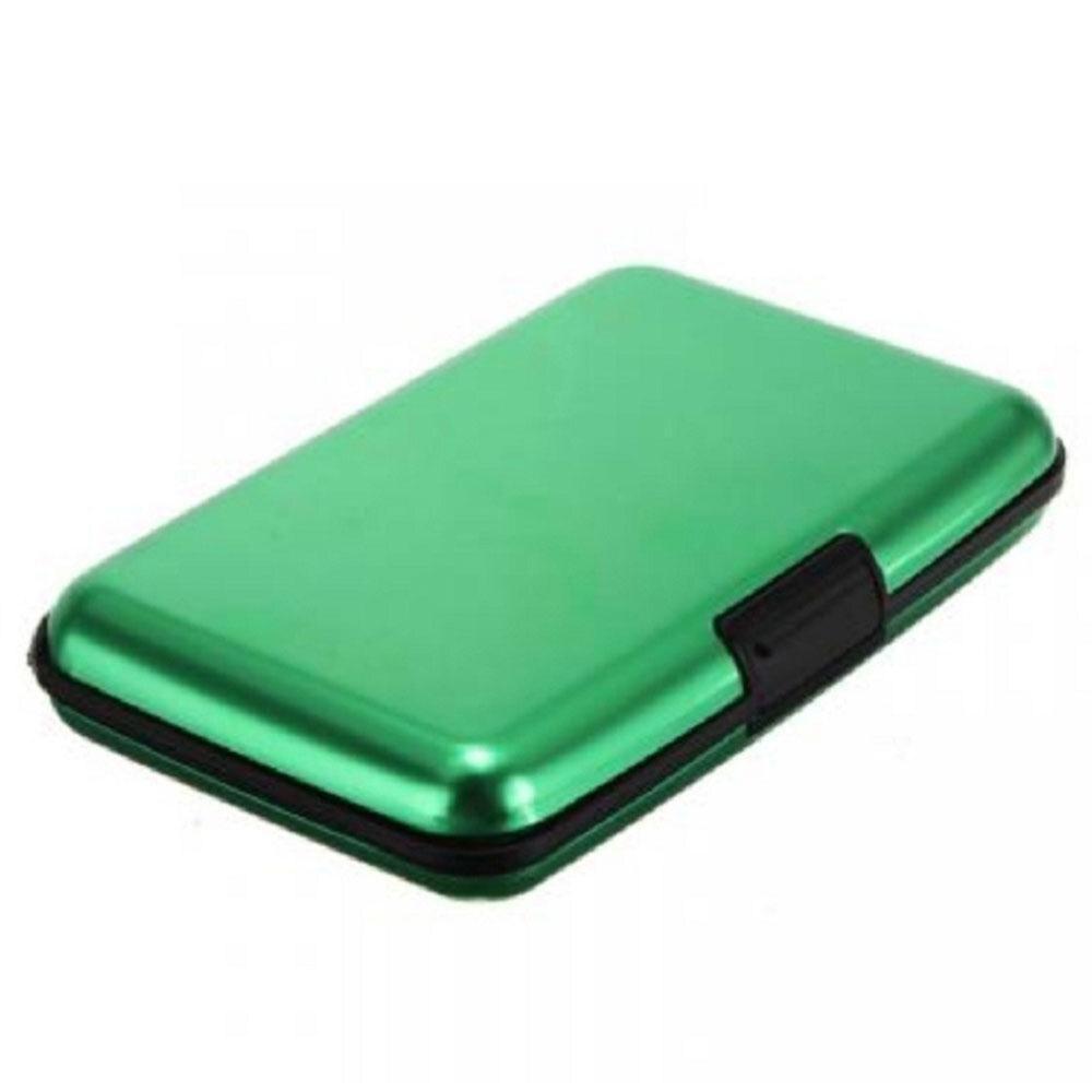 Aluminium Alloy Plastic Cardbag Card Holder Glossy Accessories Pocket Purse Multicolored Business Card Wallet Credit Card