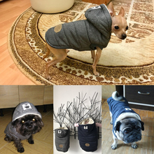 Winter Warm Hooded Puppy Coat
