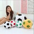 1 unids 20 cm sofá en casa balón de fútbol de peluche almohada juega copa mundial aficionado al fútbol regalo Memorable 4 colores