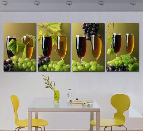 Online get cheap green grape wine for Wine decor for kitchen cheap