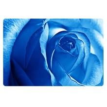 2016 alfombra Folwert azul cocina 40x60cm decoración del hogar esteras antideslizantes de flores Vintage felpudo almohadilla interior al aire libre