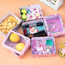 New Unicorn Series Open Window Cookie Package Hi Candy Rose