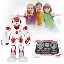 Intelligent Alpha RC Robot Smart Programming Humanoid RC Robot Toys K2 Demo Singing Dancing Robot Kid Toy Robots(China)