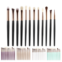 12 Pcs/set Makeup Cosmetic Kits Eye Shadow Foundation Eyebrow Lip Brush Makeup Brushes Set Tools High Quality Brush Set цены онлайн
