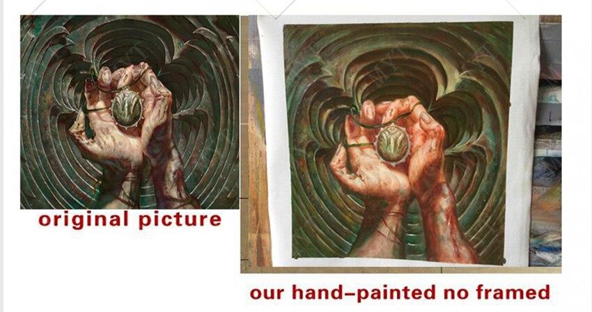 Ev ve Bahçe'ten Resim ve Hat'de El Boyalı Özel Portre yağlıboya Veya Kopyalama Resim Sergisi Handpainted Sizin Teklif Boyama El boyalı tarafından Sanatçı'da  Grup 2
