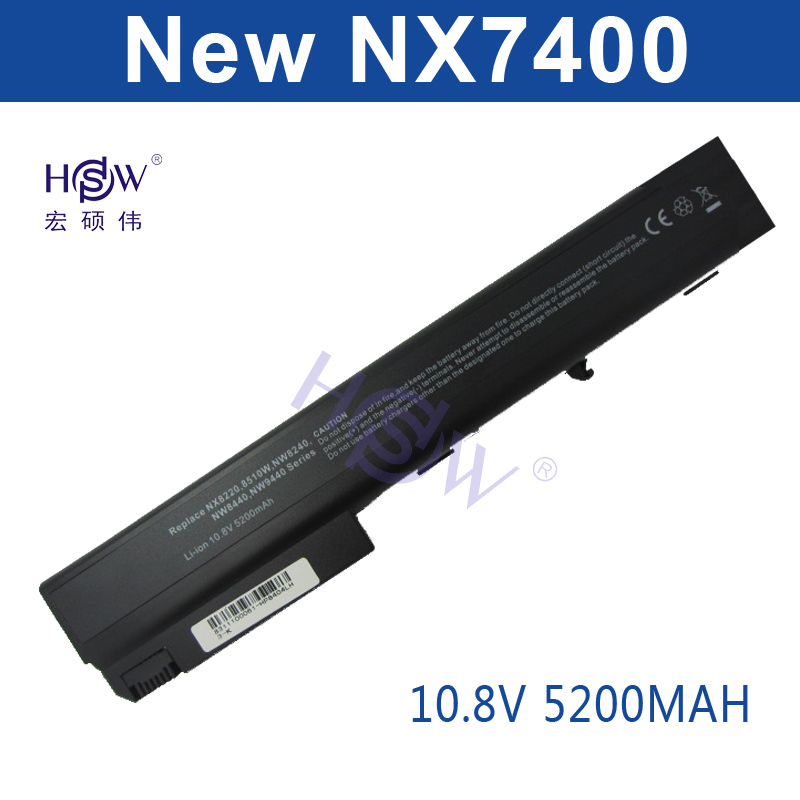 HSW laptop battery for HP Compaq Business Notebook nc8230,nc8430 nw8200,nw8240,nw8240 nw8440,nw8440 nw9440,nw9440 nx7300,nx7400 sch5147 nw