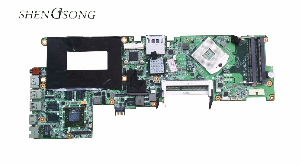 Free shipping 597597-001 board for HP envy15 laptop motherboard pm55 chipset 744008 001 744008 601 744008 501 for hp laptop motherboard 640 g1 650 g1 motherboard 100% tested 60 days warranty