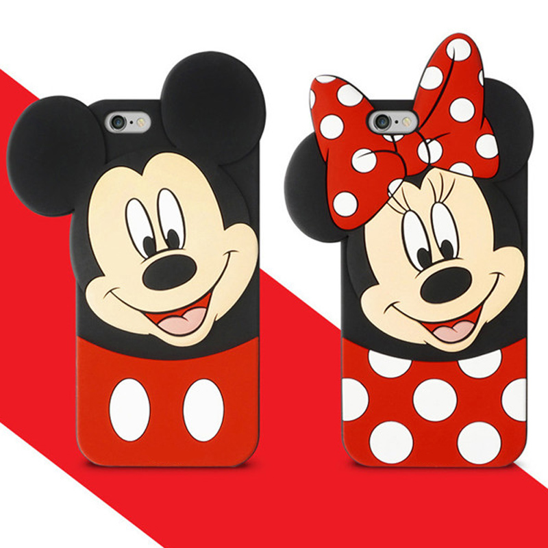 coque iphone 6 mickey 3d
